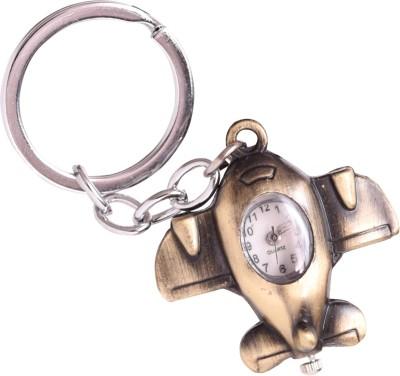 Oyedeal Designer Aeroplane with Pocket Clock Key Chain