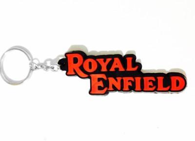 Accessory Bazar ABZR Royal Enfield Rubber Key Chain Key Chain