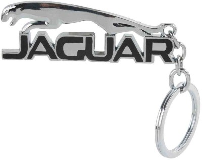 Kairos Premium Jaguar Style Metallic Keychain(Black) Key Chain