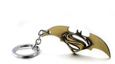 Optimus traders Movie Batman v Superman Dawn of Justice Logo 8cm Metal Key Chain