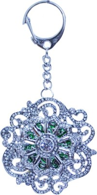 Kriti Creations Green Tara Locking Key Chain