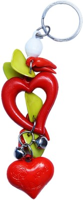 CTW Heart Hanging Keychain Key Chain