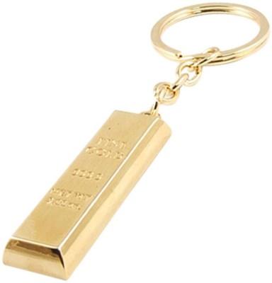 Chainz Gold Bar Metal Key Chain