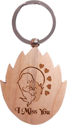 Oyedeal Express Love KYCN352 Wooden Engraved Key Chain