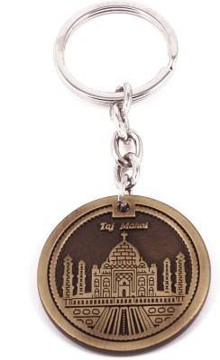 VeeVi Brass Color Taj Mahal India Key Chain