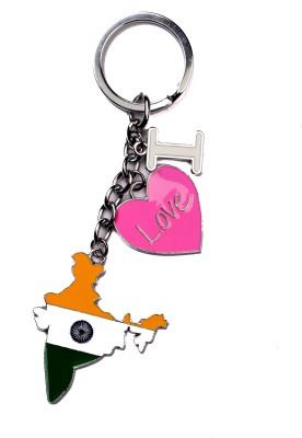 JDK I Love India Design Key Chain