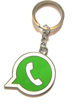 Optimum Deal Cute What's App Metal Key Chain