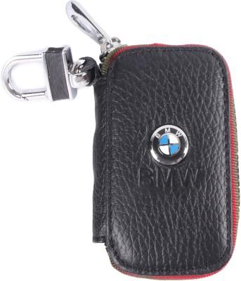 Heaven Deal BMW Small Black Key Chain Car Remote Holder Locking Carabiner