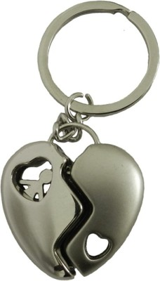 Techpro Valentinesday Romantic Metal Heart Key Chain