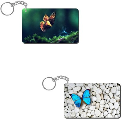 Lovely Collection Butterflies Key Chain