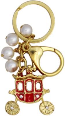 Tootpado Buggy - Stylish Stone Key Chain(Red)