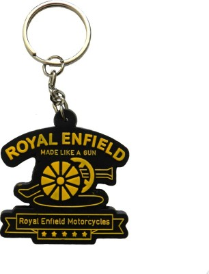 Techpro Singlesided Royal Enfield Motorcycles Key Chain
