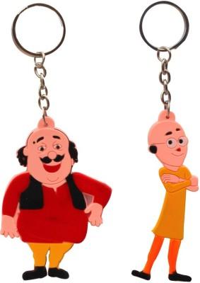 CTW Motu Patlu Cartoon Characters Combo Key Chain