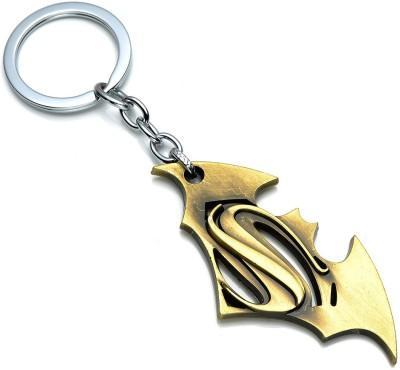 Optimus traders Movie Batman v Superman Dawn of Justice Logo 7cm Metal Locking Key Chain