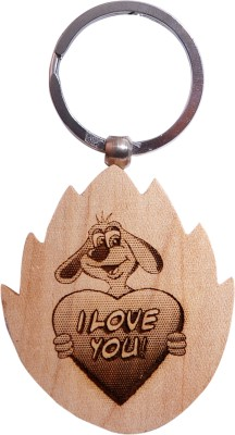 Oyedeal Express Love KYCN366 Wooden Engraved Key Chain