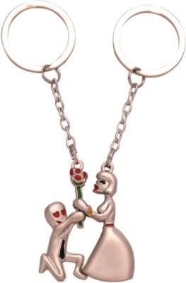spotdeal SDL754 Expressing Love Dual coupleKey chain Carabiner