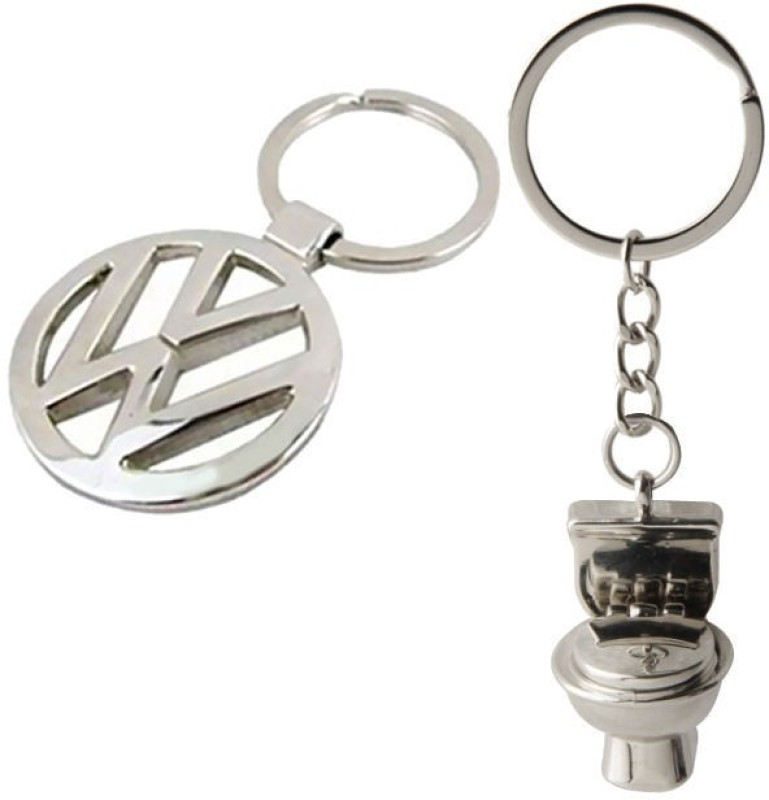 Alexus Volkswagon And Commode Key Chain