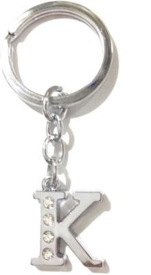 Tech Fashion Alphabet K Locking Key Chain