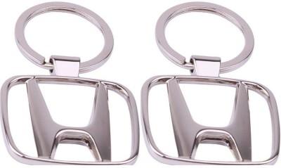 Singh Xpress Key Chain- Honda Chrome(Pack of 2) Key Chain