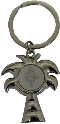 Aaradhi Divya Mantra Ganesha Beautiful Metallic Locking Key Chain