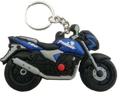 PARRK Pulsar Bike Faux Rubber f16 Locking Key Chain