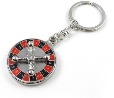 Rudham Roulette Wheel Casino Royal Key Chain(Metal)