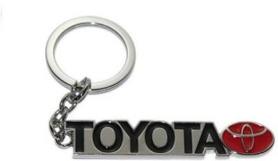 Ezone Full Metal Toyota Logo Key Chain(Multicolor) Key Chain