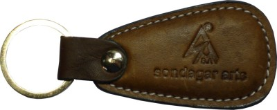 Sondagar Arts Genuine Leather Men's Key Chain