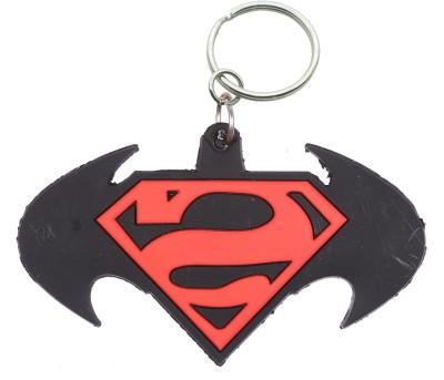 Confident non metal Batman vs supper man Key Chain(Multicolor)