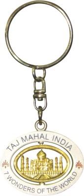 Lion Souvenirs Rotating Taj Mahal Key Chain
