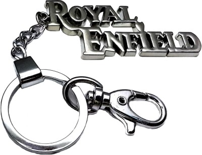Anishop Royal Enfield Heavy Metal Locking Key Chain