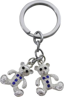 Brndey Two Teddy Bear Key Chain