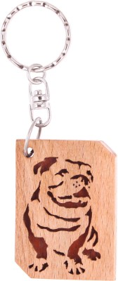 JM Bull Dog Key Chain