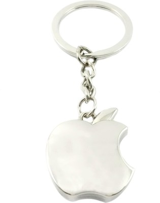 true traders True Traders silver metal apple keychain Key Chain