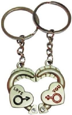 U. R. God Love You Heart Key Chain