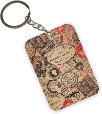 The Crazy Me Stamps Key Chain