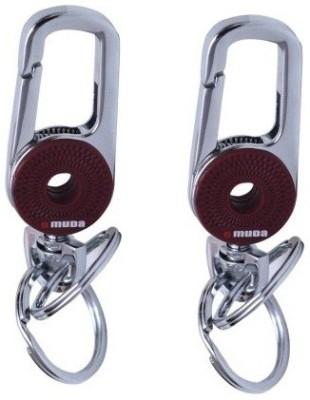 PARRK Omuda Hook Double Ring Key Locking Key Chain