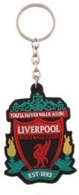 Spotdeal SDL59 Liverpool Rubber Key Chain