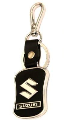 TAG3 Suzuki Car Leather & Metal Logo Key Chain