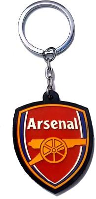 FCS Football Arsenal Rubber Key Chain