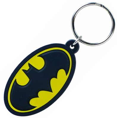 ABZR Solid Batman Rubber KeyChain Key Chain