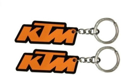 PARRK SET OF 2 KTM BIKE And KTM logo Key Chain