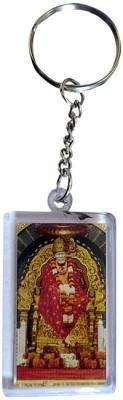 DCS Square Sai Baba Key Chain