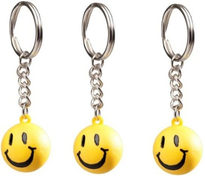 i-gadgets Set of 3 Smiley Ball Key Chain