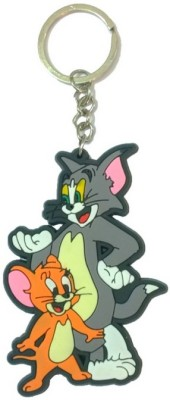 CTW Cute Tom and Jerry cartoon Rubber Key Chain