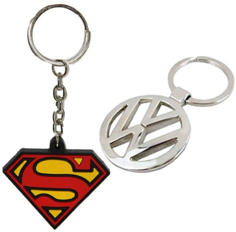 Alexus Superman & Volkswagon Key Chain