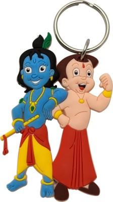 JLT Chhota Bheem and Krishna Silicone Key Chain