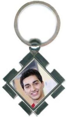 Mayursflora Personalized Photo Keychain Locking Key Chain