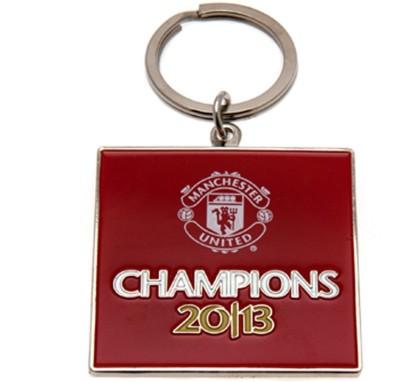 Manchester United F.C. Keyring Champions Key Chain