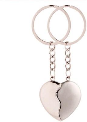 Shop & Shoppee Couple Heart Shape Key Chain